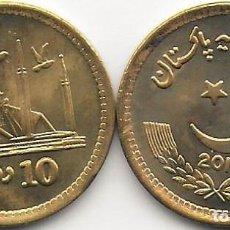 Monete antiche di Asia: PAKISTÁN 10 RUPIAS 2016 KM#77 SC. Lote 234966995
