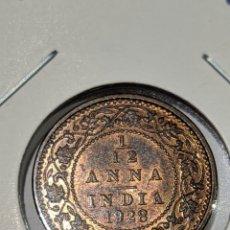 Monete antiche di Asia: MONEDA INDIA. 1/12 ANNA 1928. JORGE V. Lote 235841180
