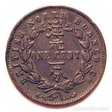 Monedas antiguas de Asia: BORNEO BRITANICO DEL NORTE - 1 CENT - 1896 H - E.B.C. - BRONCE - ESCASA. Lote 236140475