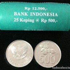 Monedas antiguas de Asia: MONEDA DE INDONESIA 500 RUPIAS 2003 SC DE CARTUCHO. Lote 236143460