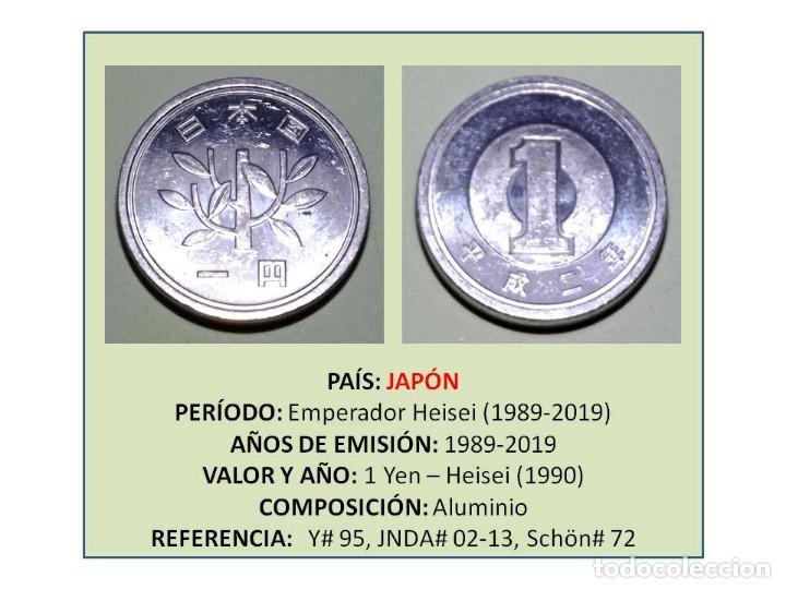MONEDA DE 1 YEN (1990) DE JAPÓN (Numismática - Extranjeras - Asia)