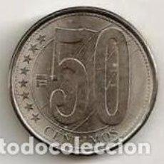 Monedas antiguas de Asia: VENEZUELA. 50 CENTAVOS 2007. S/C. Lote 236352705