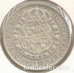 SUECIA. 1 CORONA 1939. PLATA (Numismática - Extranjeras - Asia)