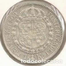 Monedas antiguas de Asia: SUECIA. 1 CORONA 1939. PLATA. Lote 236352745