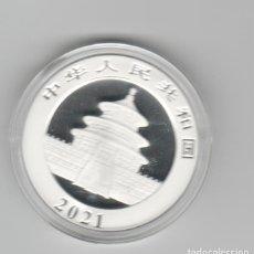 Monedas antiguas de Asia: CHINA- 10 YUAN- 2021-PLATA-PROF. Lote 236739745