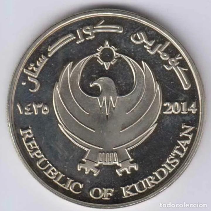 Monedas antiguas de Asia: Kurdistán 5000 Dinares 2014 UNC Linda Moneda - Foto 2 - 236849135