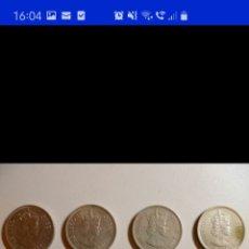 Monedas antiguas de Asia: COLECCIÓN DE 44 MONEDAS HONG KONG BRITÁNICA DIFERENTES AÑOS1933 A 1980 Y VALORES. Lote 238249355