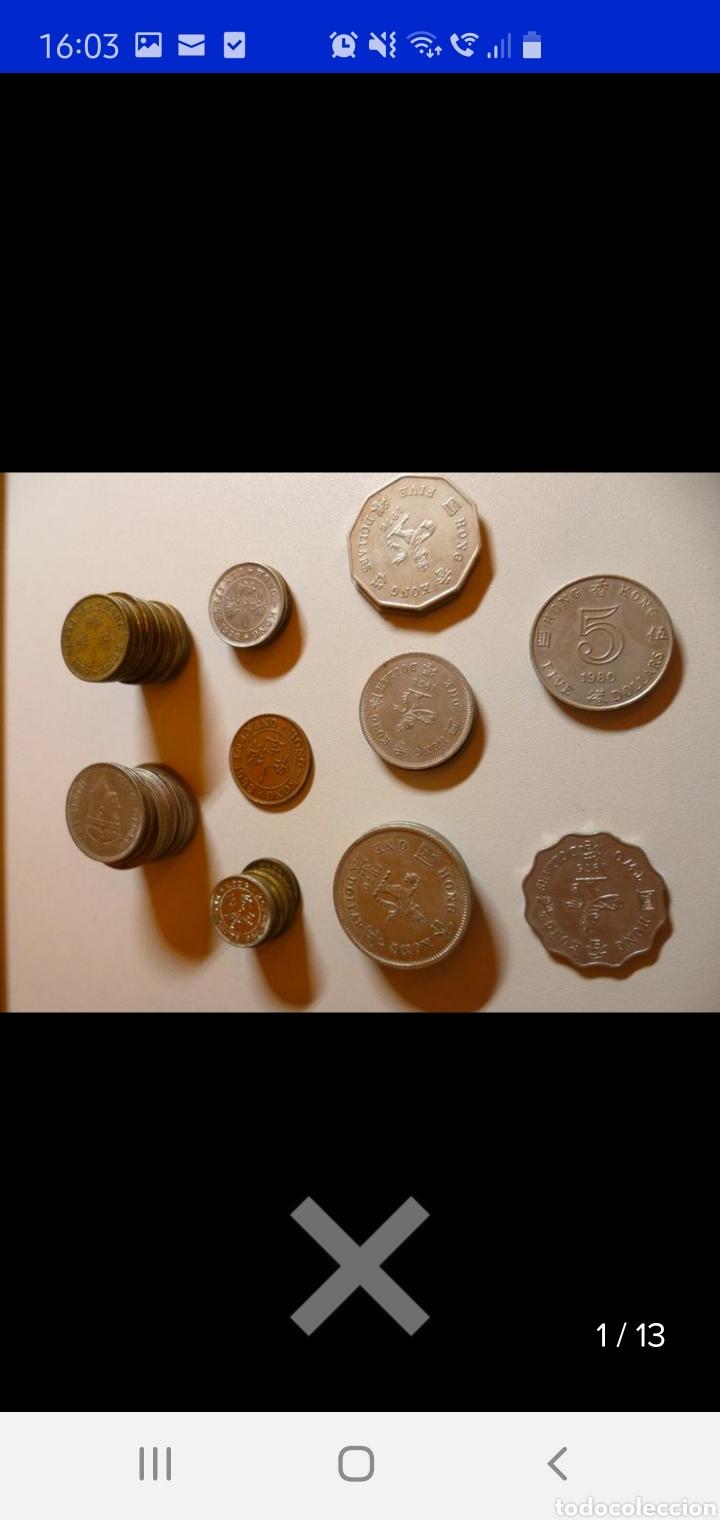 Monedas antiguas de Asia: Colección de 44 monedas hong kong británica diferentes años1933 a 1980 y valores - Foto 5 - 238249355