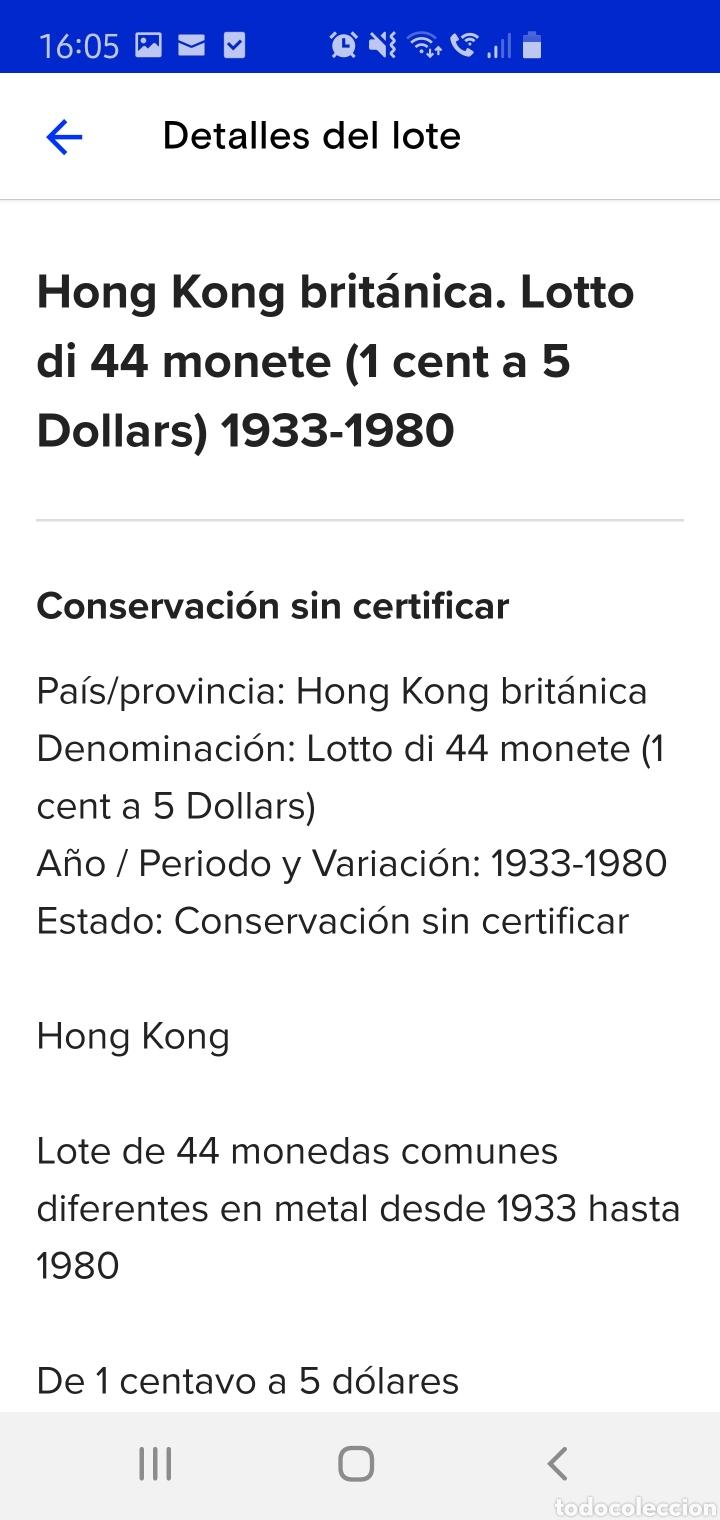 Monedas antiguas de Asia: Colección de 44 monedas hong kong británica diferentes años1933 a 1980 y valores - Foto 8 - 238249355