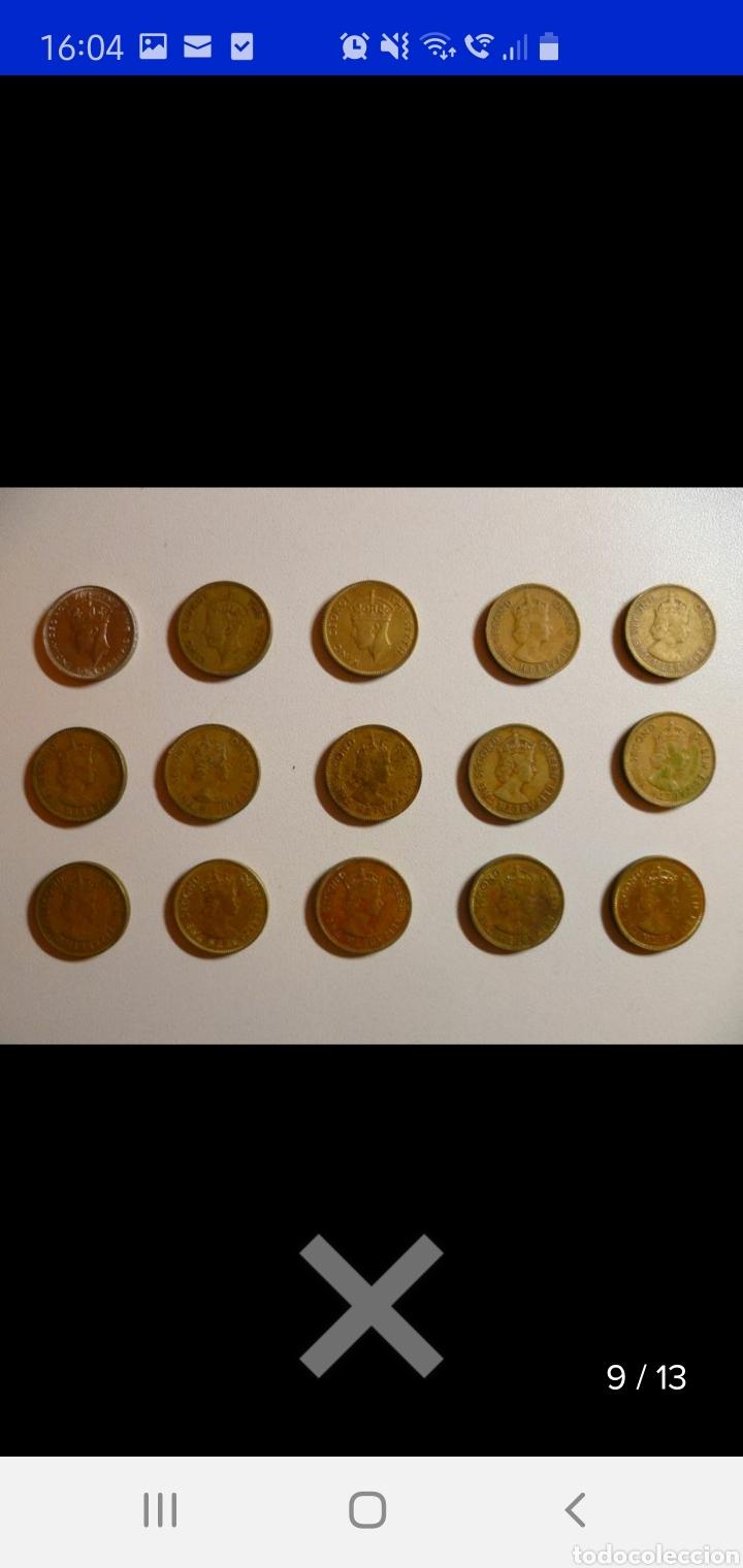 Monedas antiguas de Asia: Colección de 44 monedas hong kong británica diferentes años1933 a 1980 y valores - Foto 13 - 238249355