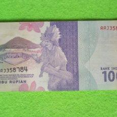 Monedas antiguas de Asia: INDONESIA. 1000 RUPIAH.2016. S/C.. Lote 239816270