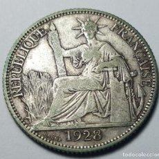Monedas antiguas de Asia: 20 CÉNTIMOS INDOCHINA FRANCESA 1928. Lote 240519675