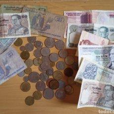 Monedas antiguas de Asia: COLECCIÓN MONEDAS Y BILLETES LOTE , TODO LO QUE SE VE EN LA FOTO. Lote 244612645
