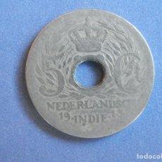 Monedas antiguas de Asia: INDIA HOLANDESA MONEDA 5 C. AÑO 1913. CONSERVACIÓN: BC. Lote 244642250