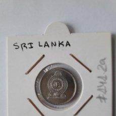 Monedas antiguas de Asia: SRI LANKA 25 CENTAVOS 2002 KM#141.2A EXCELENTE. Lote 244760190