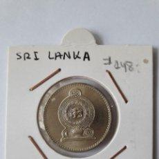 Monedas antiguas de Asia: SRI LANKA 5 RUPIAS 2002 KM#148 S/C (UNC). Lote 244761360