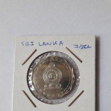 Monedas antiguas de Asia: SRI LANKA 10 RUPIAS 2009 KM#181 S/C (UNC). Lote 244763100
