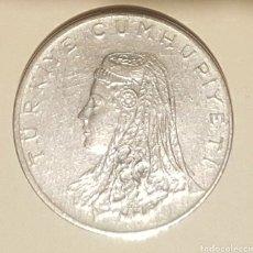 Monedas antiguas de Asia: 50 KURUS DE TURQUÍA, AÑO 1975. Lote 244764885