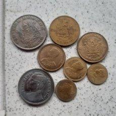 Monedas antiguas de Asia: THAILANDIA. 8 MONEDAS. Lote 245257190