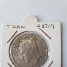 Monedas antiguas de Asia: IRAN 20 RIALS 1976 (SH2535) KM#1209 BONITA. Lote 245479765