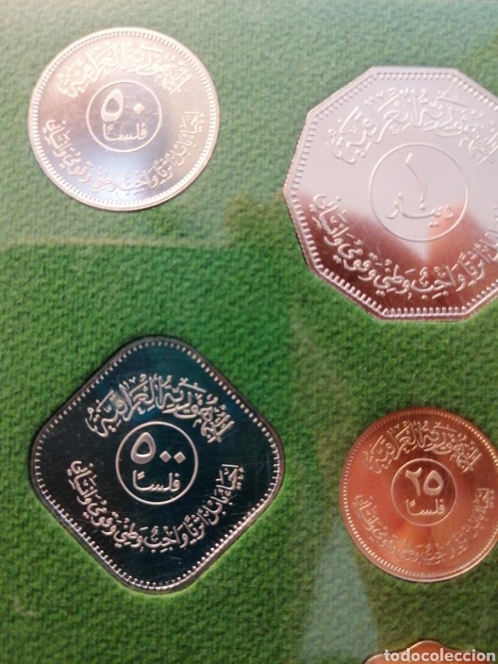 Monedas antiguas de Asia: Estuche monedas Iraq Irak. Republic of Iraq. Coins of the restoration of the city of Babylon - Foto 3 - 245882975