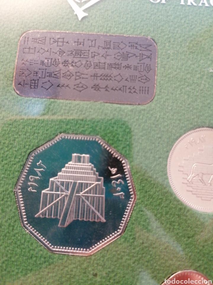 Monedas antiguas de Asia: Estuche monedas Iraq Irak. Republic of Iraq. Coins of the restoration of the city of Babylon - Foto 6 - 245882975