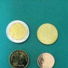 Monedas antiguas de Asia: AZERBAIYÁN-LOTE 6 MONEDAS-SC. Lote 245965175