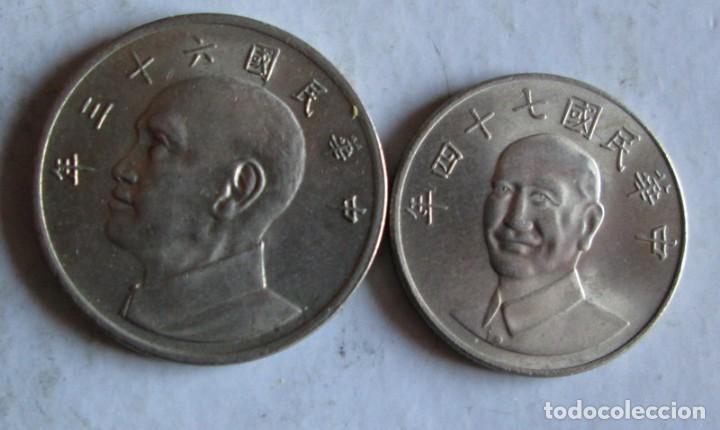 2 DE TAI-WAN (Numismática - Extranjeras - Asia)