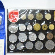 Monedas antiguas de Asia: LOTE MONEDAS EXTRANGERAS - TURQUIA Y ISRAEL HANUKKA 1978 - LOTE. 3738. Lote 248701460