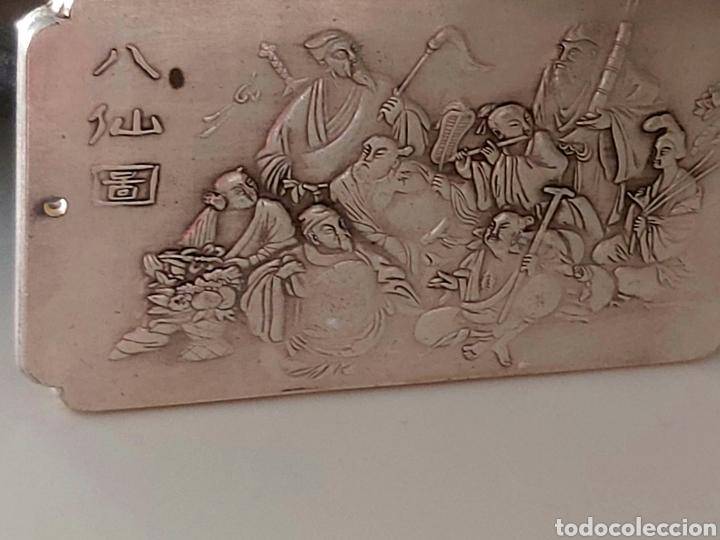 Monedas antiguas de Asia: EXCLUSIVO LINGOTE DE PLATA TIBETANA DE LOS 8 EMPERADORES, LOS INMORTALES - Foto 4 - 250233540