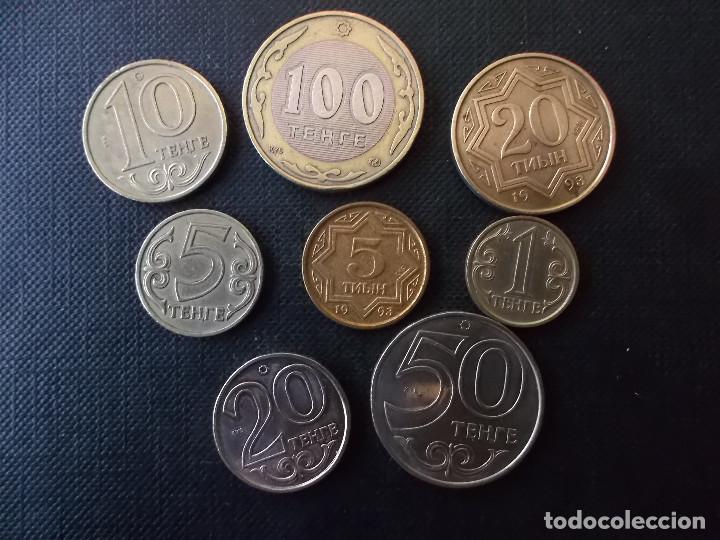 Monedas antiguas de Asia: conjunto de monedas de Kazakhstan - Foto 2 - 177456892