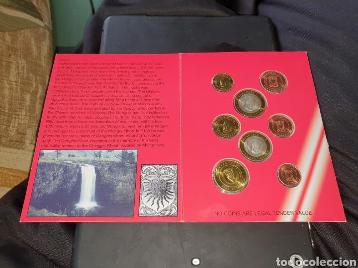 Monedas antiguas de Asia: Seis de 8 monedas euro Mongolia 2005 - Foto 2 - 251186630