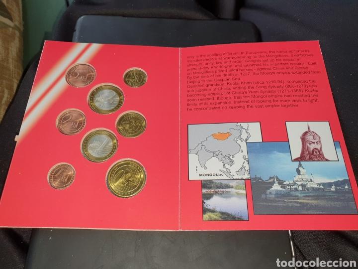 Monedas antiguas de Asia: Seis de 8 monedas euro Mongolia 2005 - Foto 3 - 251186630