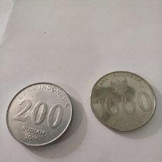 Monedas antiguas de Asia: DOS MONEDAS DE INDONESIA. Lote 251367915