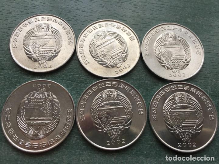 Monedas antiguas de Asia: KOREA DEL NORTE 2002 SIN CIRCULAR SERIE ANIMALES - Foto 5 - 251638500