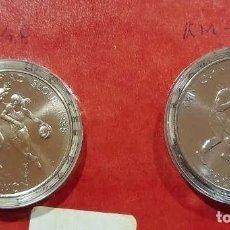 Monedas antiguas de Asia: ESTUCHE CON DOS MONEDAS DE 1.000 Y 2.000 WON DE JUEGOS OLÍMPICOS DE SEÚL 1988. BOXEO Y BALONCESTO. Lote 252271230