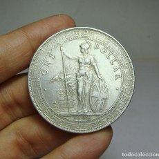 Monedas antiguas de Asia: 1 DÓLAR. PLATA. IMPERIO BRITÁNICO. BOMBAY - 1904 (RARA). Lote 253545385