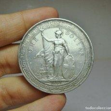 Monedas antiguas de Asia: 1 DÓLAR. PLATA. IMPERIO BRITÁNICO. MARCA PERDIDA. 1897. Lote 253546490
