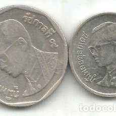 Monedas antiguas de Asia: M 9110 TAILANDIA LOTE DE 2 MONEDAS 2004. Lote 255288955