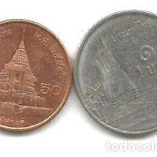 Monedas antiguas de Asia: M 9112 TAILANDIA LOTE DE 2 MONEDAS 2011. Lote 255296520