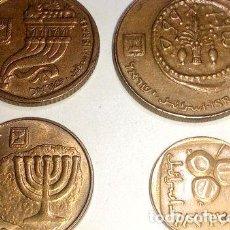 Monedas antiguas de Asia: LOTE DE MONEDAS DE ISRAEL. Lote 255300340