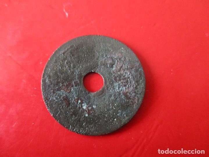 Monedas antiguas de Asia: China. moneda antigua de un cash. Ho Quili. 1460/1467 - Foto 2 - 255329185
