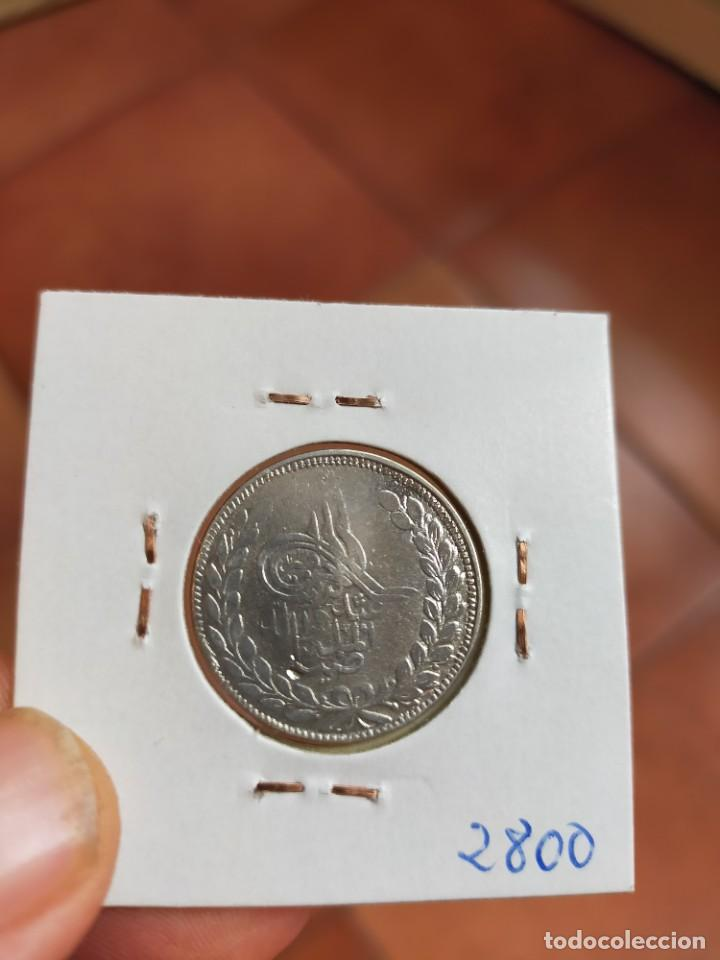 Monedas antiguas de Asia: MONEDA DE UNA 1 RUPIA 1896 1314 AFGHANISTAN AFGANISTAN PLATA - Foto 2 - 255375170