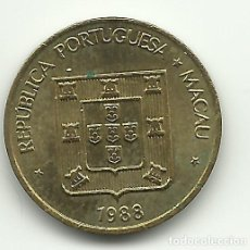 Monete antiche di Asia: 10 AVOS - MACAU - 1988 - FOTOS. Lote 255596915