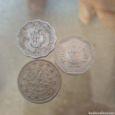 Monedas antiguas de Asia: LOTE 3 MONEDAS INDIA.. Lote 257522910