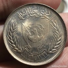 Monedas antiguas de Asia: SUDAN KM65 5 GHIRSH 1976 UNC SC. Lote 257914105