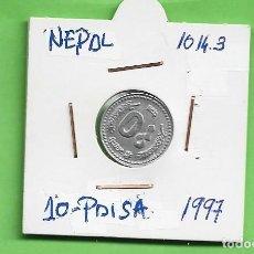 Monedas antiguas de Asia: NEPAL. 10 PAISA 1989. ALUMINIO. KM#1014.3. Lote 261953650
