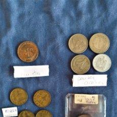 Monedas antiguas de Asia: LOTE 12 MONEDAS CHIPRE, COREA, EMIRATOS, PAISES ARABES. Lote 262474155