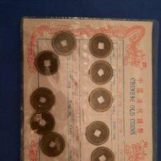 Moedas antigas da Ásia: CHINESE OLD COINS. Lote 262629105