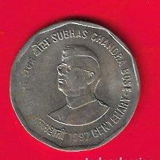 Moedas antigas da Ásia: INDIA 2 RUPIAS 1997 CENTENARIO SUBHAS CHANDRA BOSE. Lote 263094890